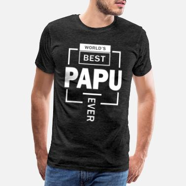 Papu Best Papu - Men's Premium T-Shirt