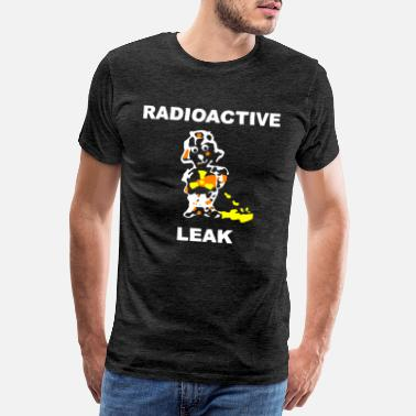 Radioactivity PENDECH Radioactive Humor Satire Comic. - Men's Premium T-Shirt