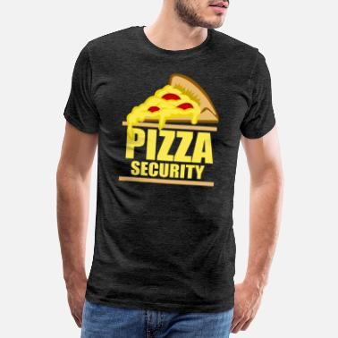 Greasy Pizza favorite food pizzeria cheese salami gift - Men's Premium T-Shirt