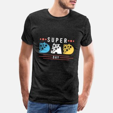 Daddies SUPER DAD DAY - T-shirt premium Homme