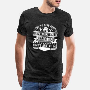 Architecture Architect I give people a different way of looking - Men's Premium T-Shirt
