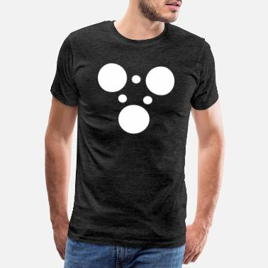 Tech Circle Double Triangle - Men's Premium T-Shirt