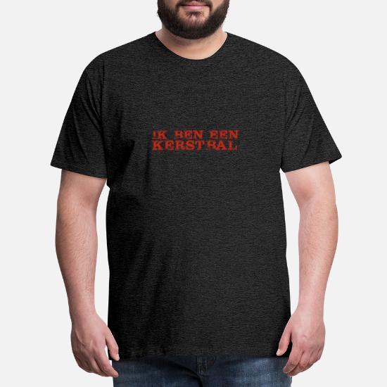 Ik ben een kerstbal Mannen premium T shirt | Spreadshirt