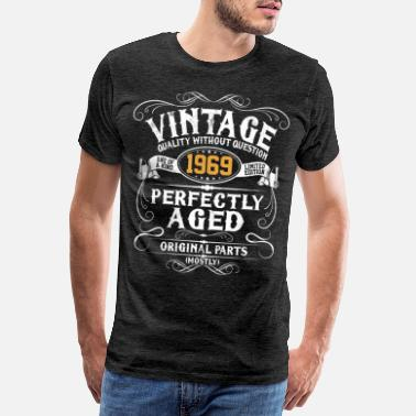 Birthday 50th Birthday - Vintage 1969 50 Years Gift - Men's Premium T-Shirt
