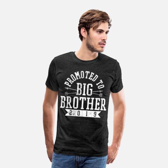 Big T-shirts - Big Brother 2019 - T-shirt premium Homme charbon
