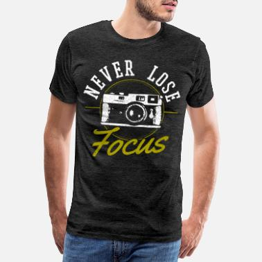 Photo appareil photo - T-shirt premium Homme