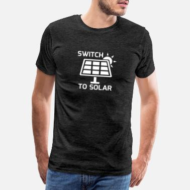 Solar Switch to Solar - Männer Premium T-Shirt