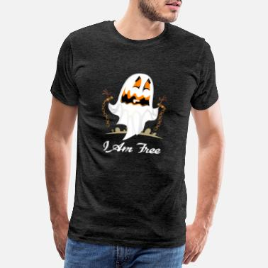 Europe Funny Halloween I Am Free T-shirt - Men's Premium T-Shirt