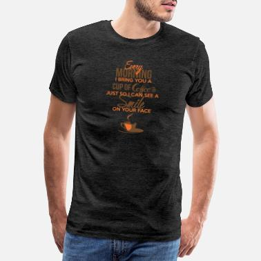 Beckett Coffee Smile - Men's Premium T-Shirt