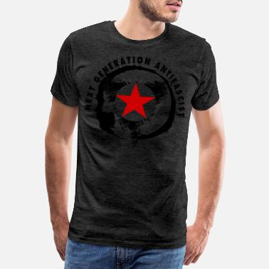 Antifa NEXT GENERATION ANTIFASCIST - Männer Premium T-Shirt