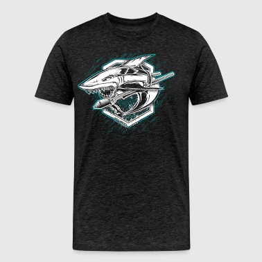 World Of Warships Croiseur Requin - T-shirt Premium Homme