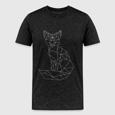 t-shirt with Fox - Men's Premium T-Shirt