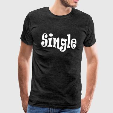 Single White - Mannen Premium T-shirt