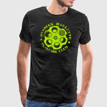 Russisk Roulette Players Club Neon Vintage - Herre premium T-shirt