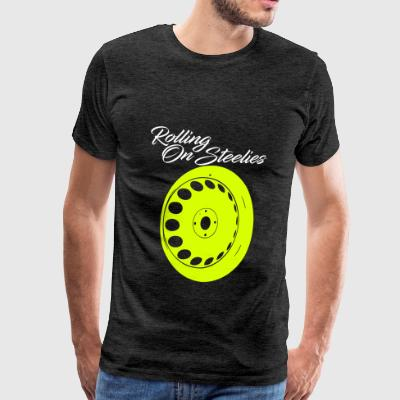 rollingonsteelies by GusiStyle - Men's Premium T-Shirt