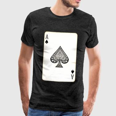 Carte de Jeux As De Pique - T-shirt Premium Homme