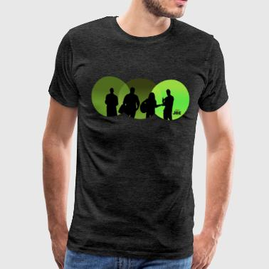 Motive Cheerio Joe green - Men's Premium T-Shirt