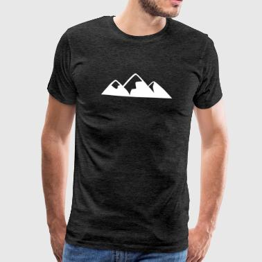 Outdoor · Camping · Mountains · Montain - Men's Premium T-Shirt