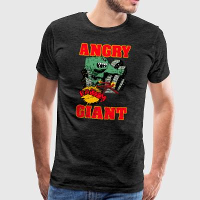 Vintage Angry Giant Cartoon Style - Men's Premium T-Shirt