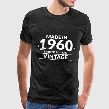 Made in 1960 - Limited Edition - Vintage - Männer Premium T-Shirt