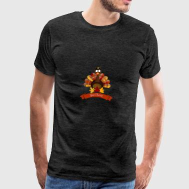 Thanksgiving Day Turquie Happy - Happy Thanksgiving - T-shirt Premium Homme