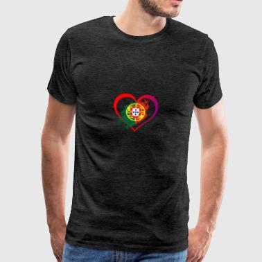 J'AIME COLLECTION PORTUGAL - T-shirt Premium Homme