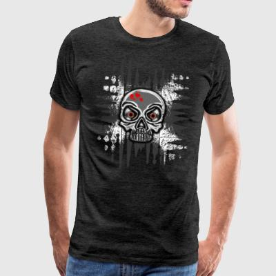 20-3 Rock Head Skull - Men's Premium T-Shirt