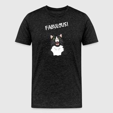 fabulous cat - Men's Premium T-Shirt