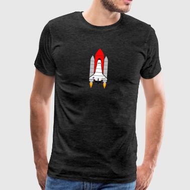 Spaceship - Men's Premium T-Shirt