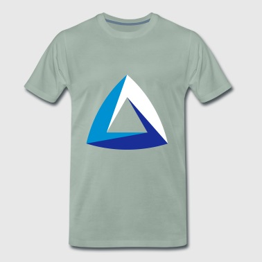 abstract symbol impossible object Dreieck triangle - Männer Premium T-Shirt