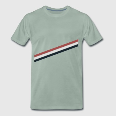 Pale Stripes - Männer Premium T-Shirt