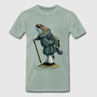 Elizabethan Trout - Men's Premium T-Shirt