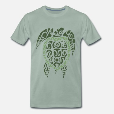 Tatoo tortue - T-shirt Premium Homme