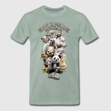 ESCAPADE CLUB - Men's Premium T-Shirt