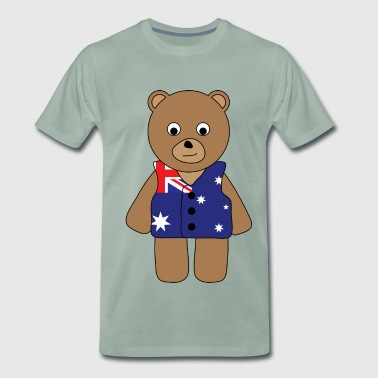 Aussie Bear.png - Men's Premium T-Shirt