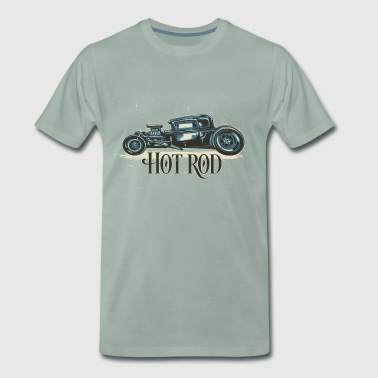 Hot Rod Vintage - T-shirt Premium Homme