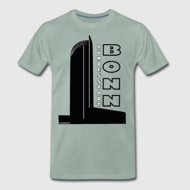 Post Tower Fédérale de Bonn - T-shirt Premium Homme