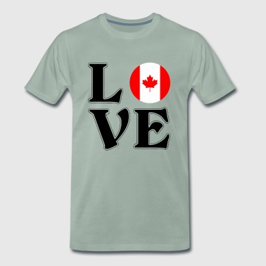 J'aime le Canada - Canada - Canada - Voyage - T-shirt Premium Homme