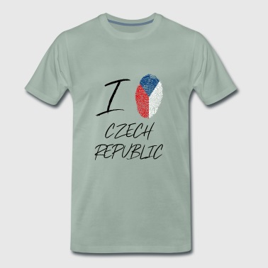 I love Czech Republic - Men's Premium T-Shirt