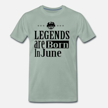 June 1950 June - Men's Premium T-Shirt