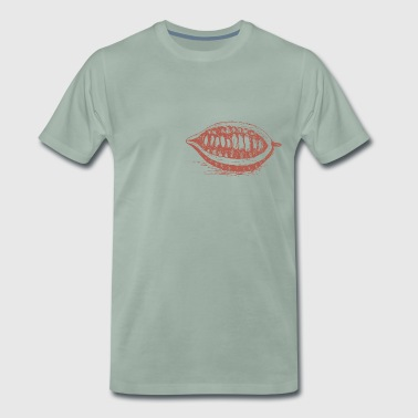 Cocoa bean - Men's Premium T-Shirt