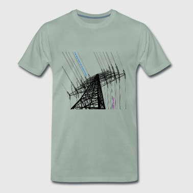 Electric Sky - Männer Premium T-Shirt