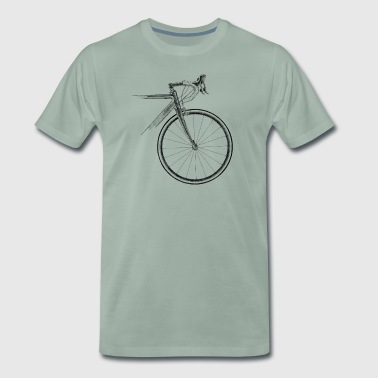 racing bike - Men's Premium T-Shirt