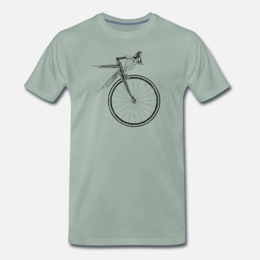 Bike Racing racing bike - Men's Premium T-Shirt