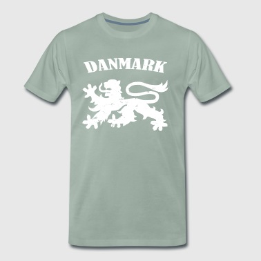 Denmark T-shirt - Coat of arms icon country gift - Men's Premium T-Shirt