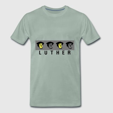 Martin Luther Pop Art - Men's Premium T-Shirt