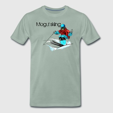 Mogul skiing - Men's Premium T-Shirt