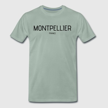 Montpellier - Premium T-skjorte for menn