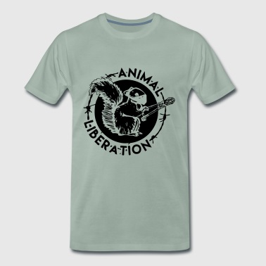 Libération Animale Squirrel Animal Liberation - T-shirt Premium Homme