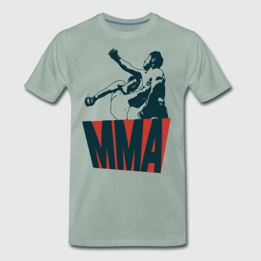 Mixed Martial Arts - Herre premium T-shirt